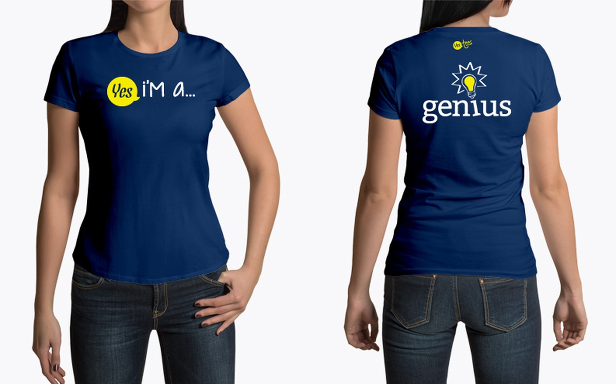Im A Genius T Shirt Design For Your Smart Friends