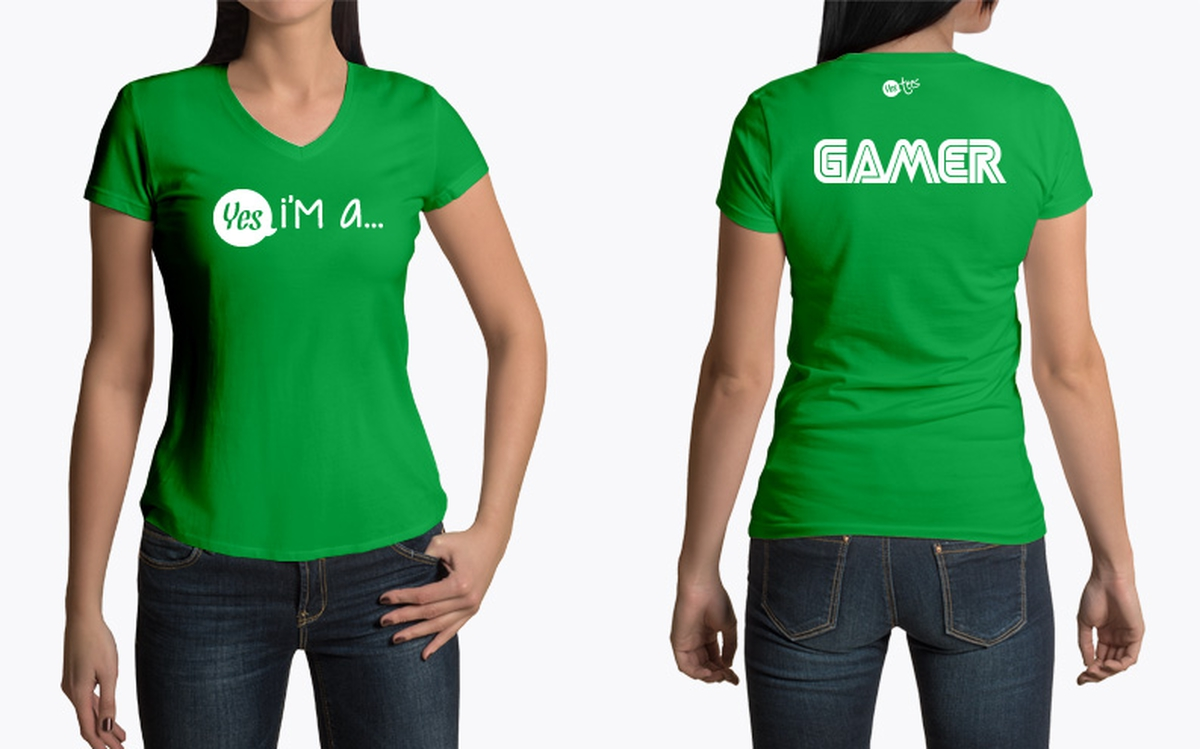 Im A Gamer T Shirt Design For Video Games Addicts