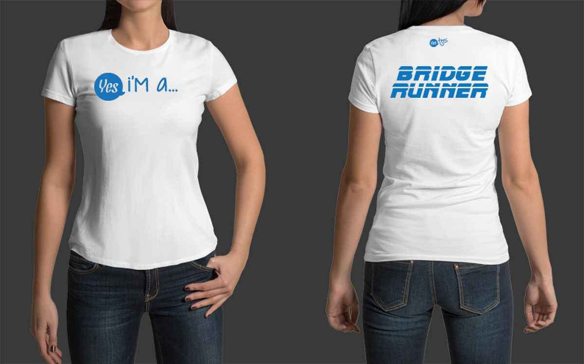 Custom Made Bridge Runner T-Shirt for Women