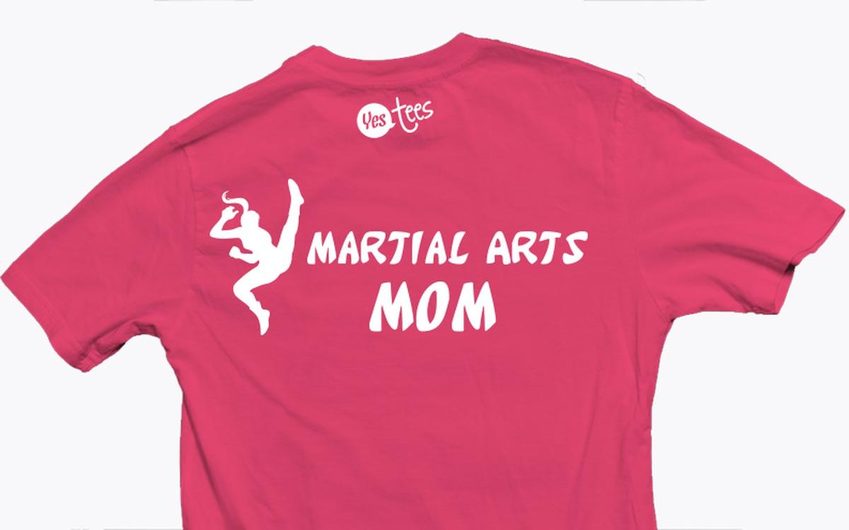 Fresh I'm a Martial Arts Mom T-Shirt Present For Your Moms QP52
