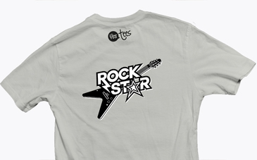 I'm a Rock Star T-Shirt Head Banging Party