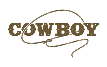 Custom Cowboy Graphical Text